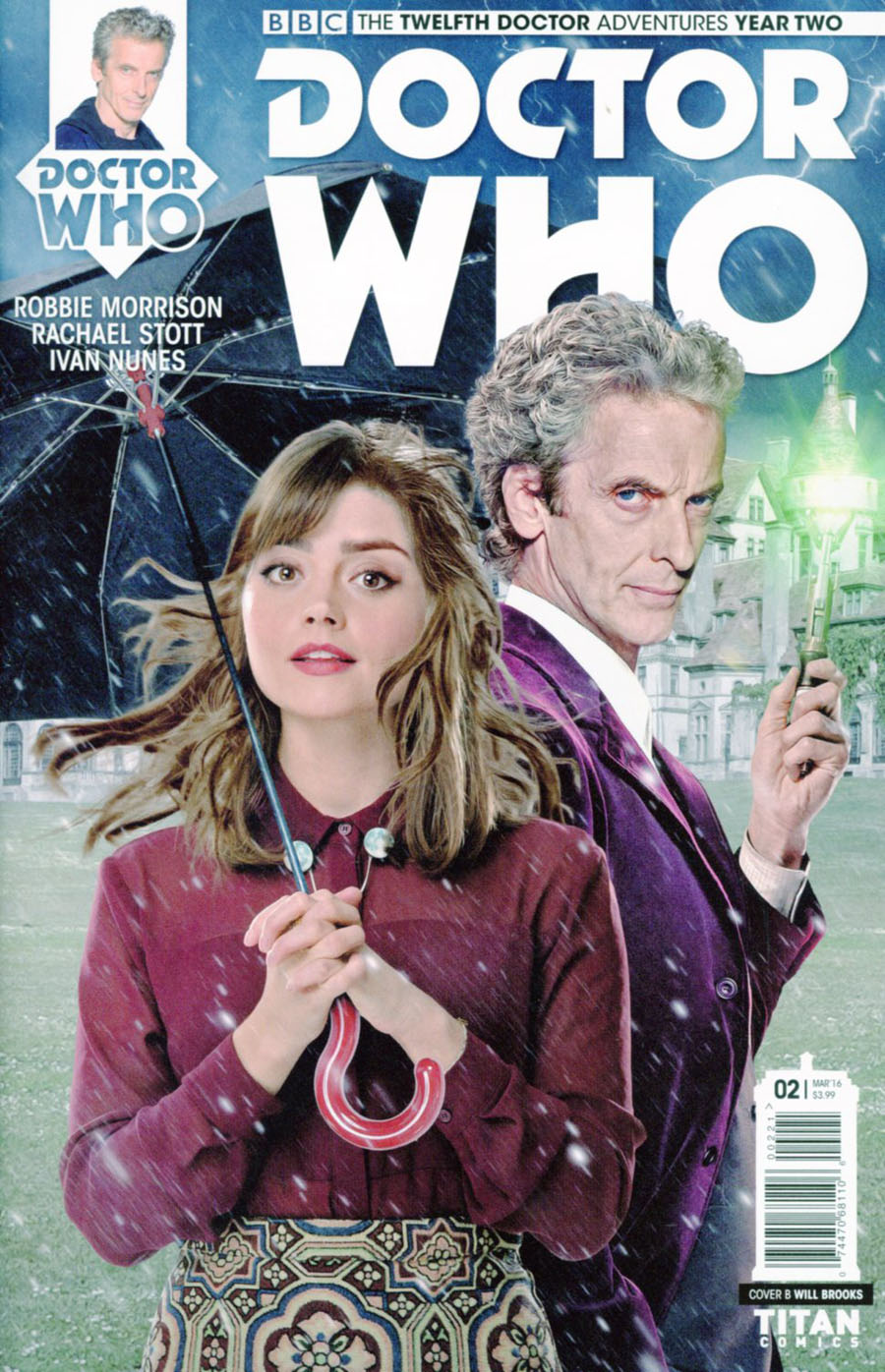 Doctor Who 12th Doctor Year Two #2 Cover B Variant Photo Subscription Cover