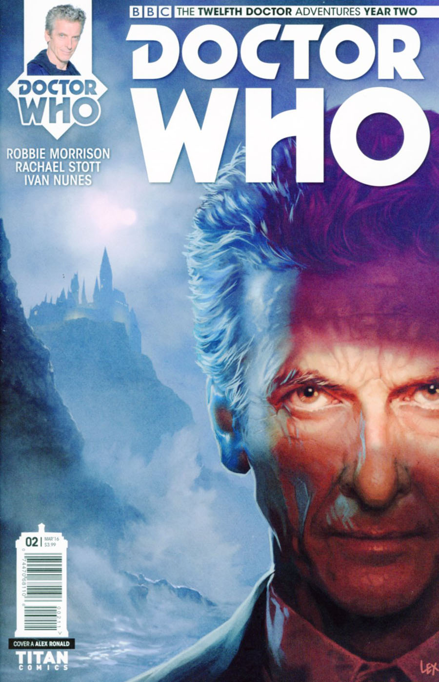 Doctor Who 12th Doctor Year Two #2 Cover A Regular Alex Ronald Cover