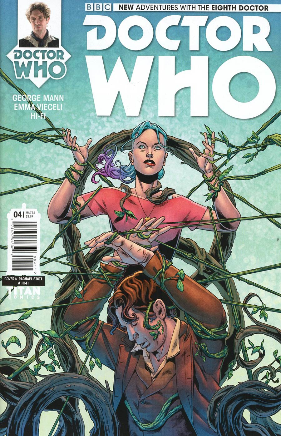 Doctor Who 8th Doctor #4 Cover A Regular Rachael Stott Cover