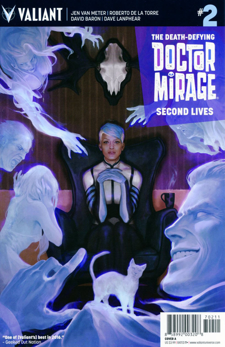 Death-Defying Doctor Mirage Second Lives #2 Cover A Regular Jelena Kevic-Djurdjevic Cover