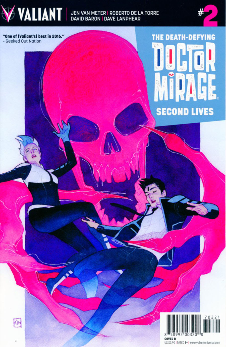 Death-Defying Doctor Mirage Second Lives #2 Cover B Variant Kevin Wada Cover