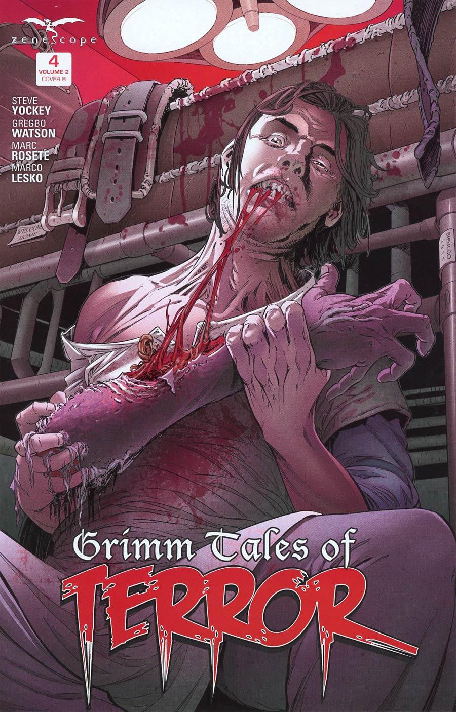 Grimm Fairy Tales Presents Grimm Tales Of Terror Vol 2 #4 Cover B Antonio BiFulco