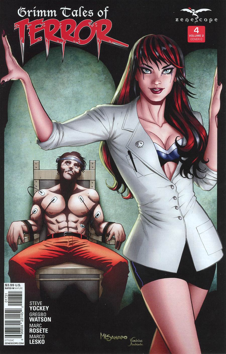 Grimm Fairy Tales Presents Grimm Tales Of Terror Vol 2 #4 Cover C Maria Laura Sanapo