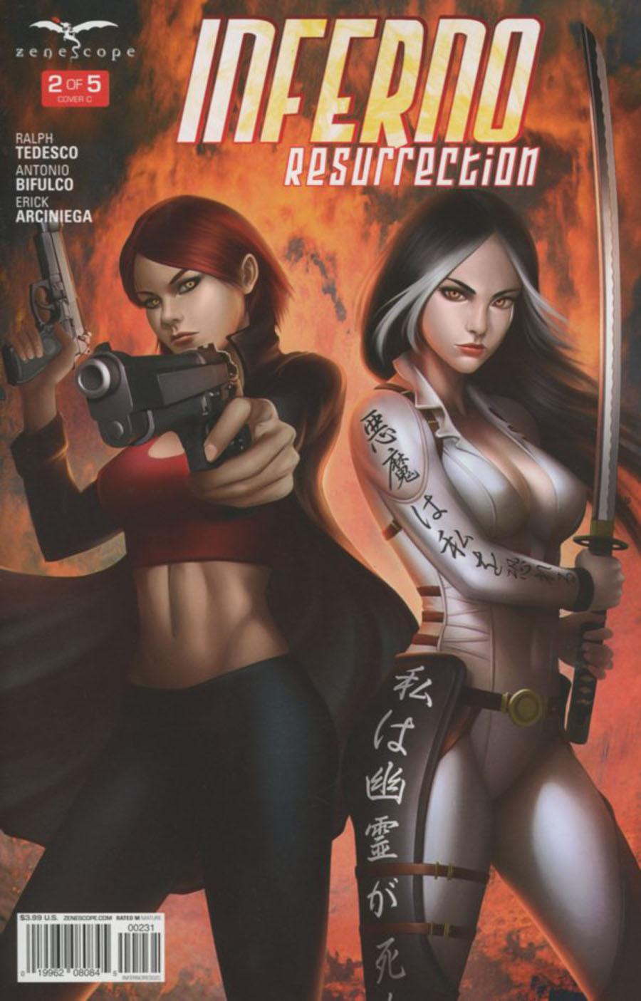 Grimm Fairy Tales Presents Inferno Resurrection #2 Cover C Meguro