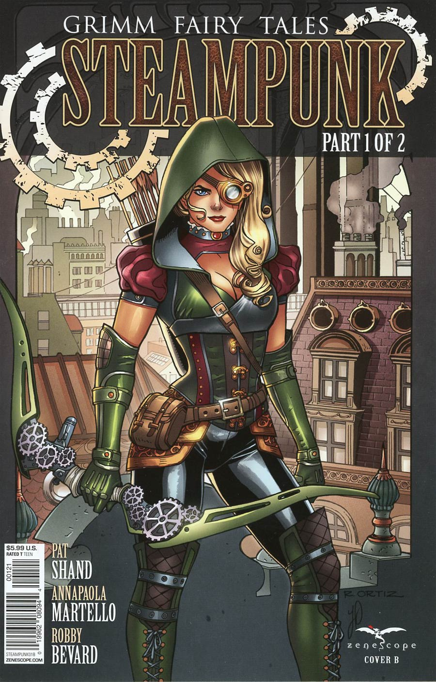 Grimm Fairy Tales Presents Steampunk #1 Cover B Richard Ortiz