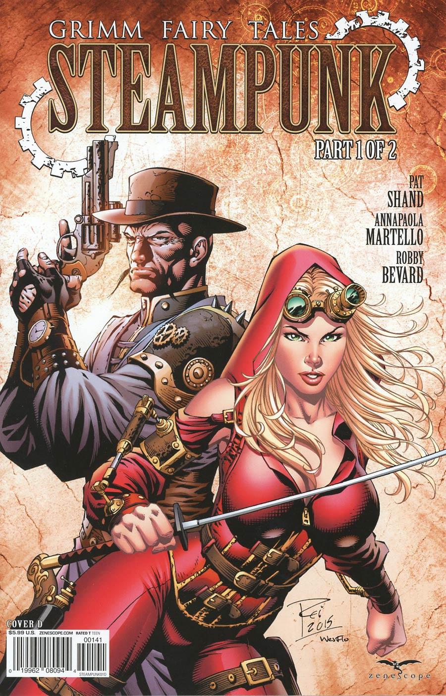 Grimm Fairy Tales Presents Steampunk #1 Cover D Renato Rei