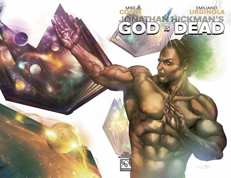 God Is Dead #46 Cover C Carnage Wraparound Cover