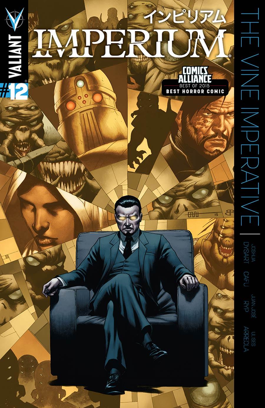 Imperium #12 Cover A Regular CAFU Cover
