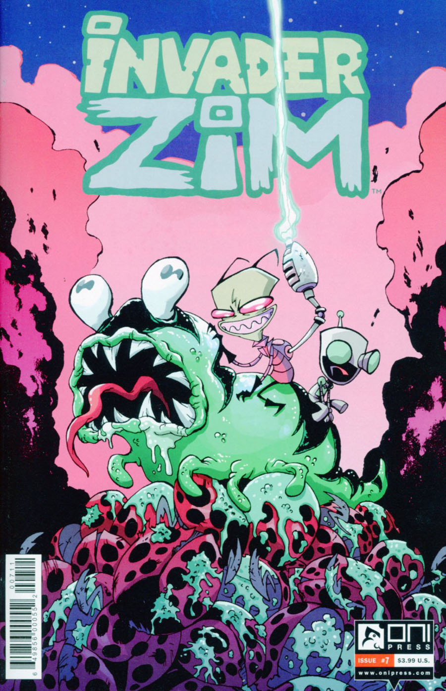 Invader Zim #7 Cover A Regular Dave Crosland Cover