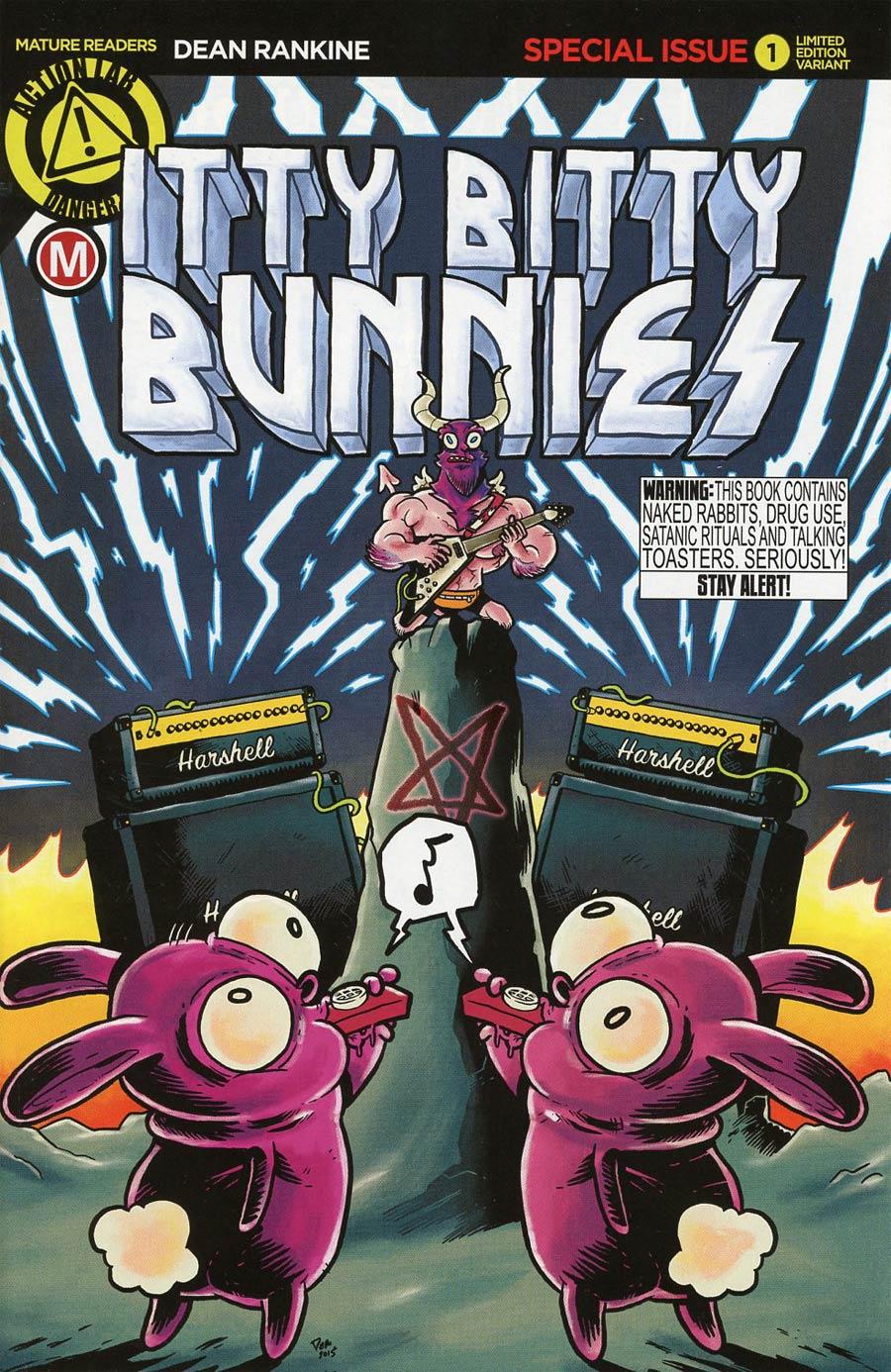 Itty Bitty Bunnies In Rainbow Pixie Candyland Pop Tarts One Shot Cover B Variant Daniel Arruda Massa Cover