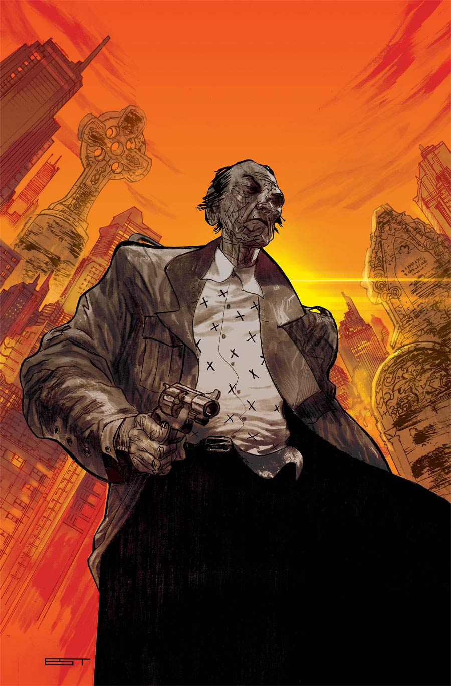 Last Contract #1 Cover A Regular Lisandro Estherren Cover