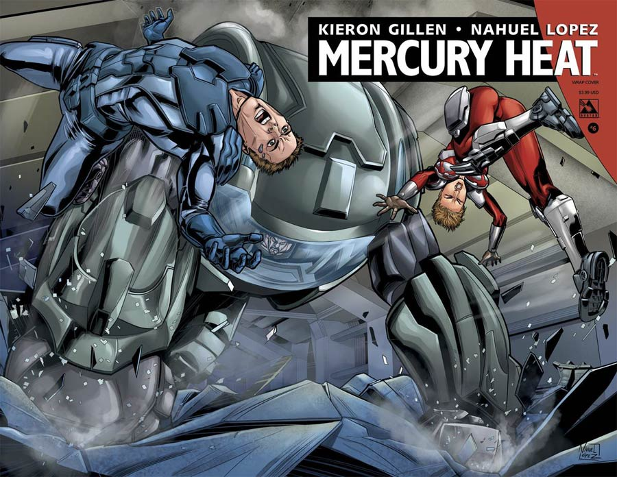 Mercury Heat #6 Cover B Wraparound Cover