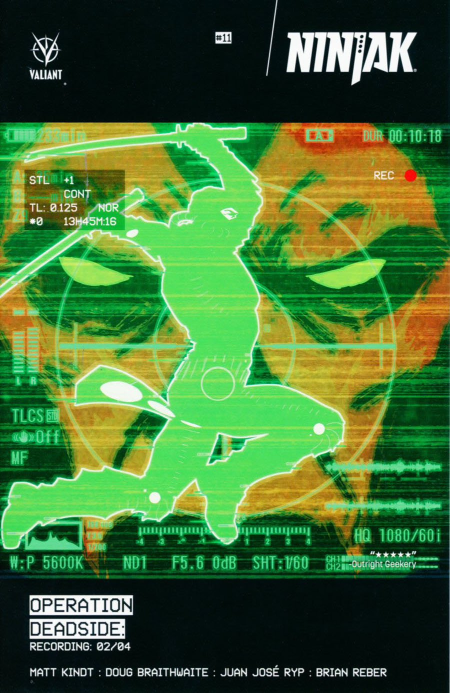 Ninjak Vol 3 #11 Cover A Regular Kano Cover