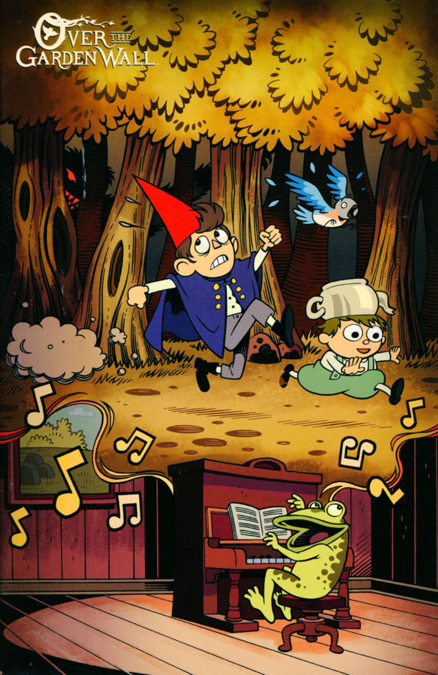 Over The Garden Wall #1 Cover G BCC Exclusive Roger Langridge Variant Cover