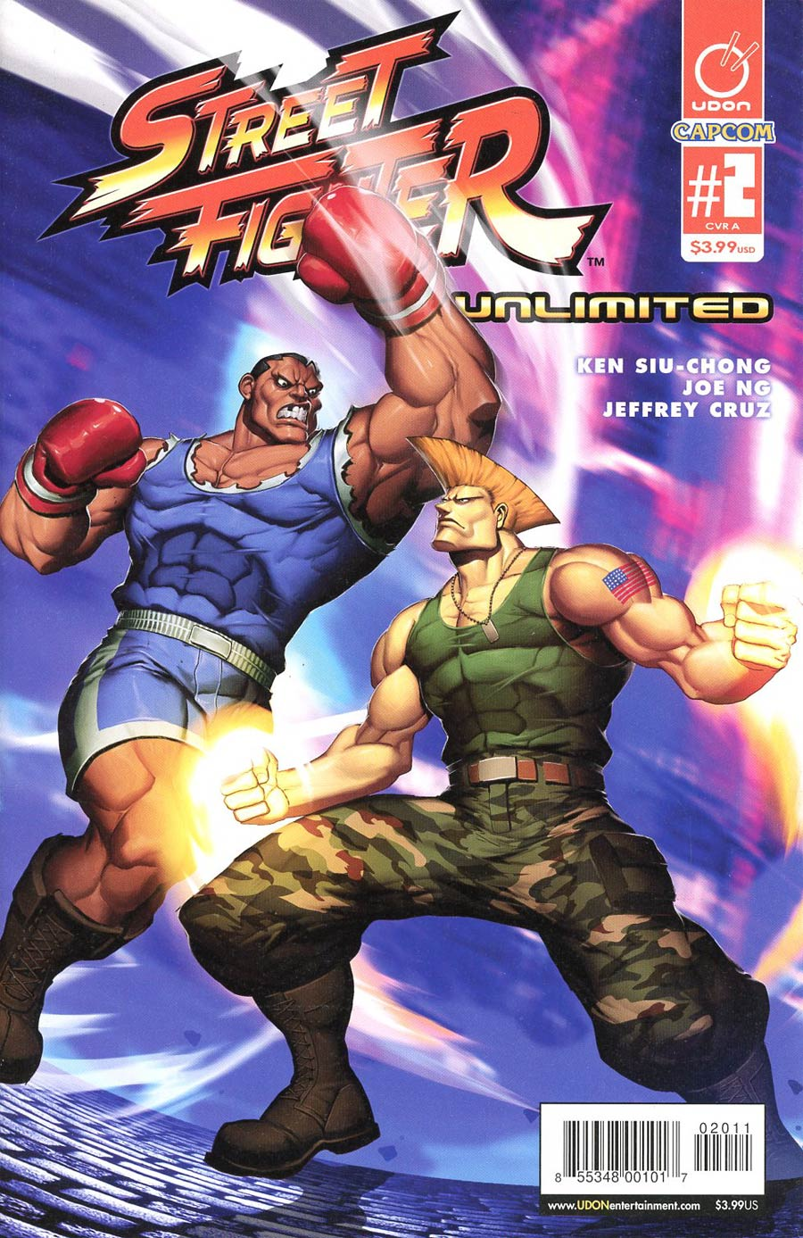Street Fighter Unlimited #2 Cover A Regular Genzoman Story Cover