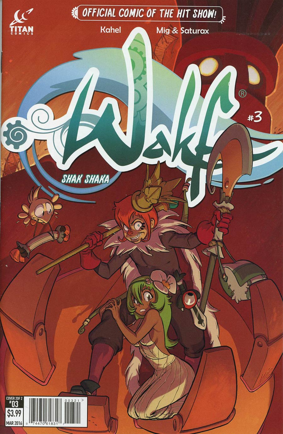 Wakfu #3 Cover B Variant Mig & Saturax Subscription Cover