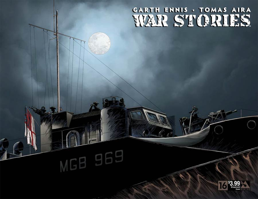 War Stories #16 Cover B Wraparound Cover