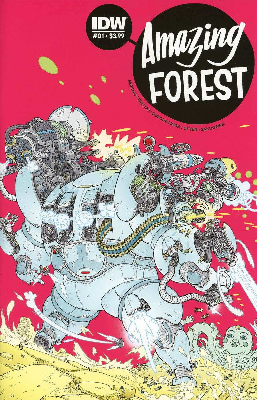 Amazing Forest #1 Cover A Regular Ulises Farinas Cover