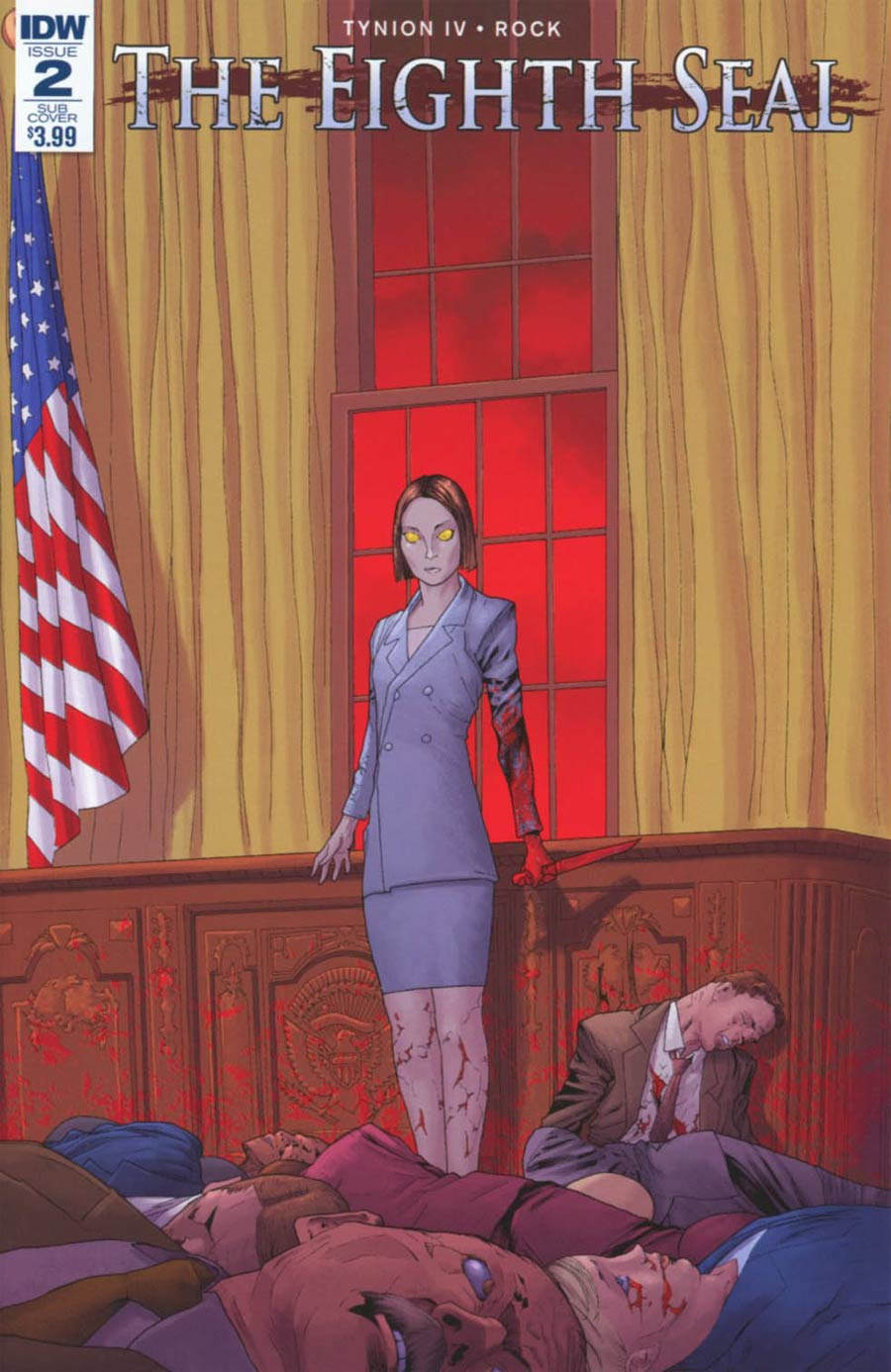 Eighth Seal #2 Cover B Variant Travel Foreman Subscription Cover