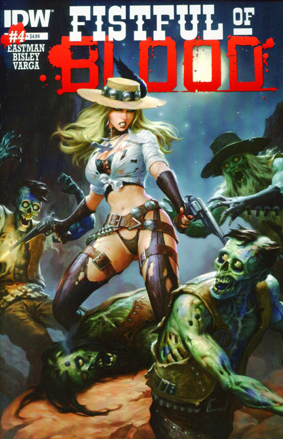 Fistful Of Blood #4 Cover A Regular James Ryman Cover
