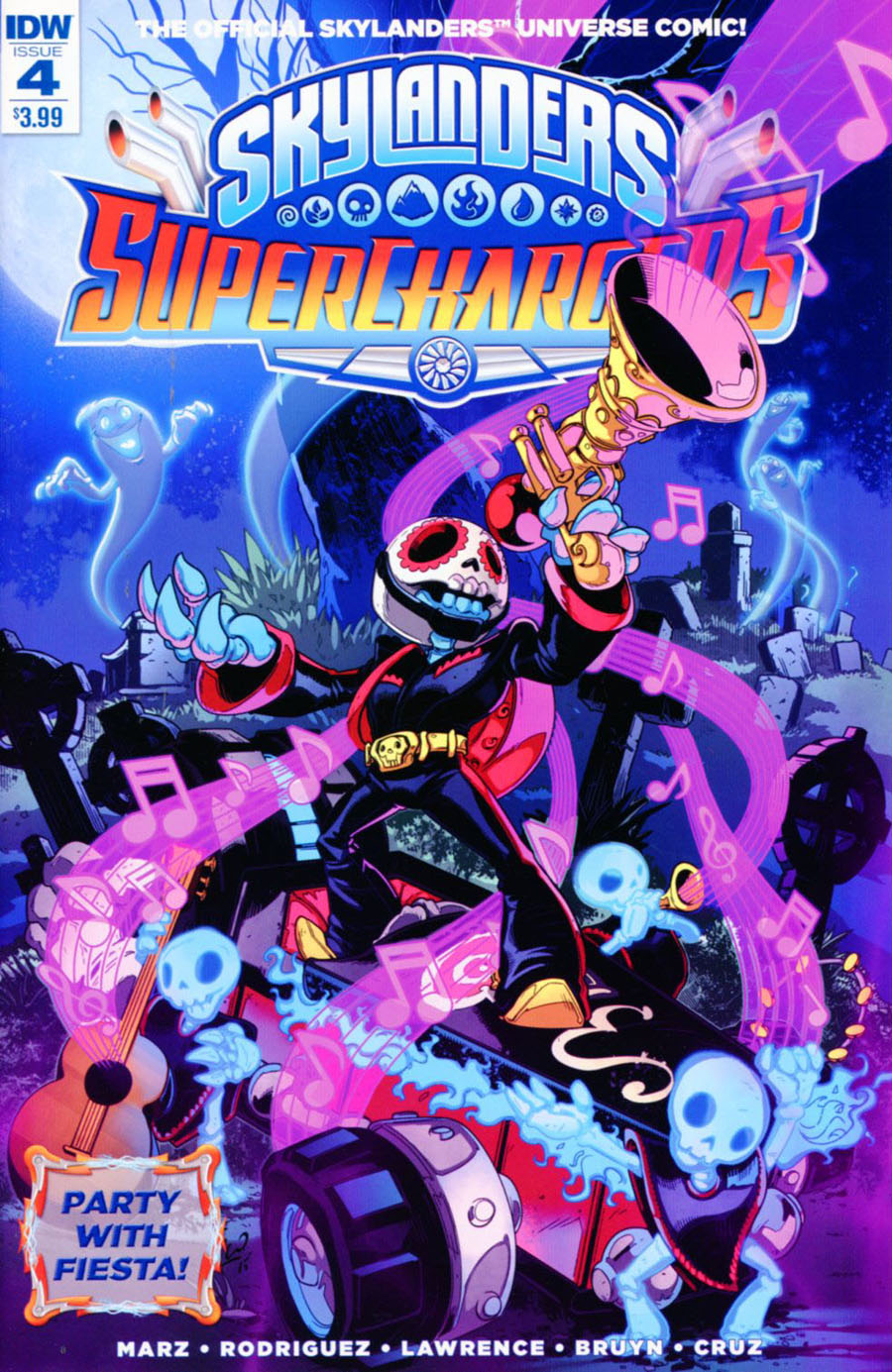 Skylanders Superchargers #4 Cover A Regular Fico Ossio Cover