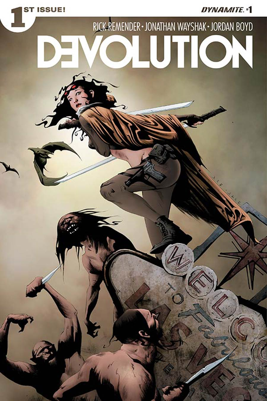 Devolution #1 Cover A 1st Ptg Regular Jae Lee Cover