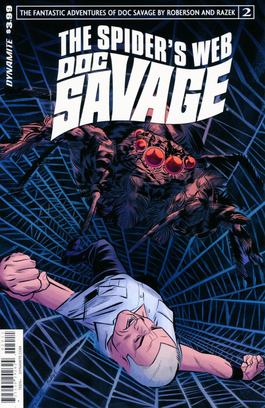 Doc Savage Spiders Web #2 Cover A Regular Wilfredo Torres Cover