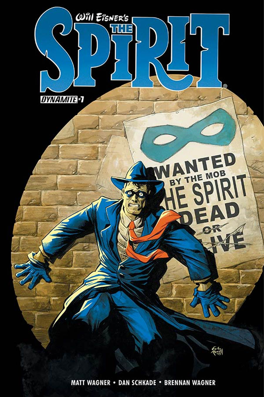 Will Eisners Spirit #7 Cover A Regular Eric Powell Cover