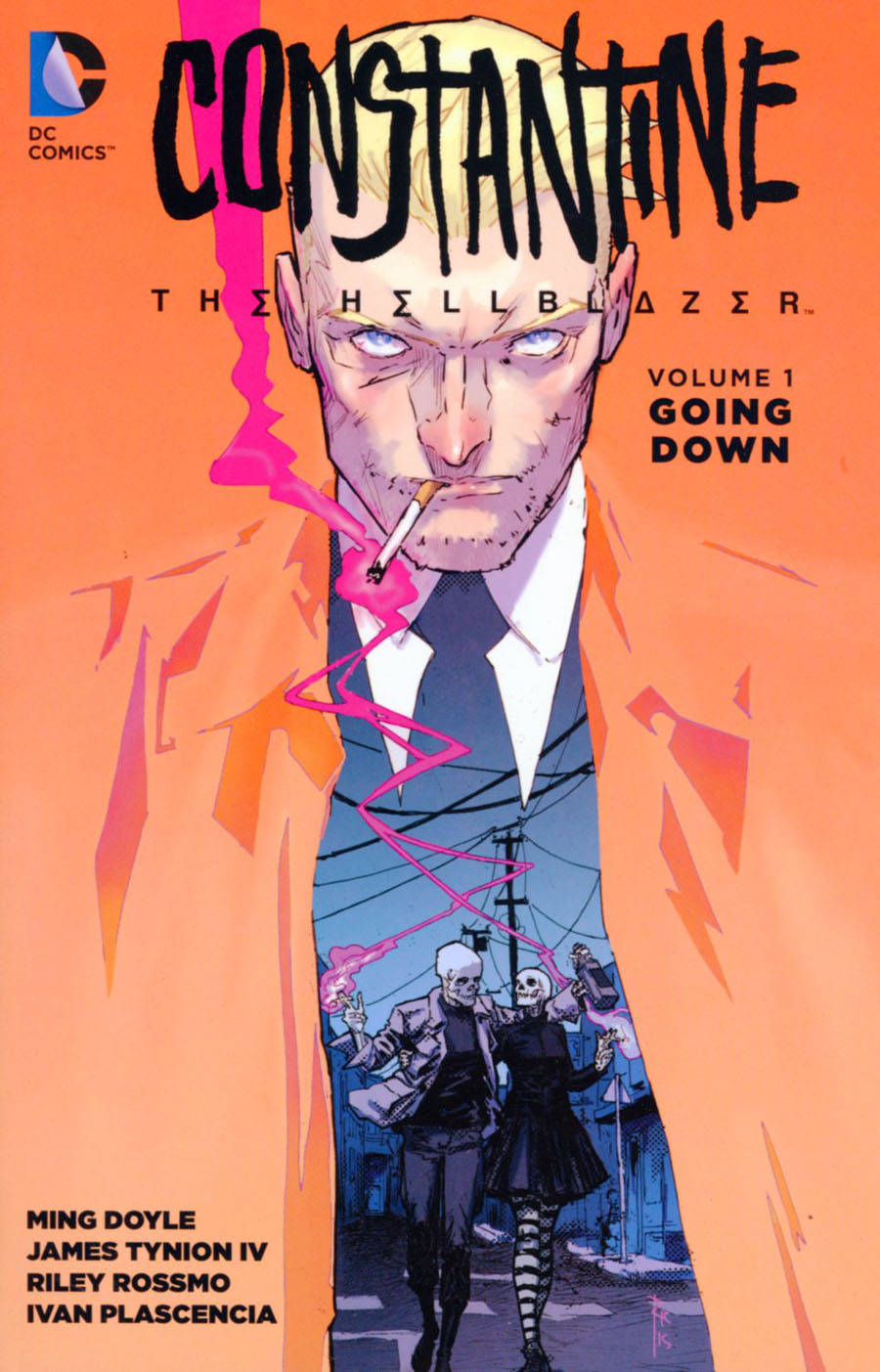 Constantine The Hellblazer (New 52) Vol 1 Going Down TP