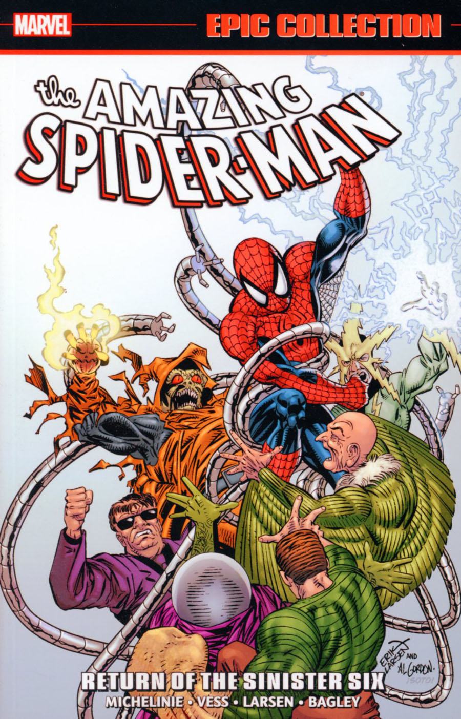 Amazing Spider-Man Epic Collection Vol 21 Return Of The Sinister Six TP
