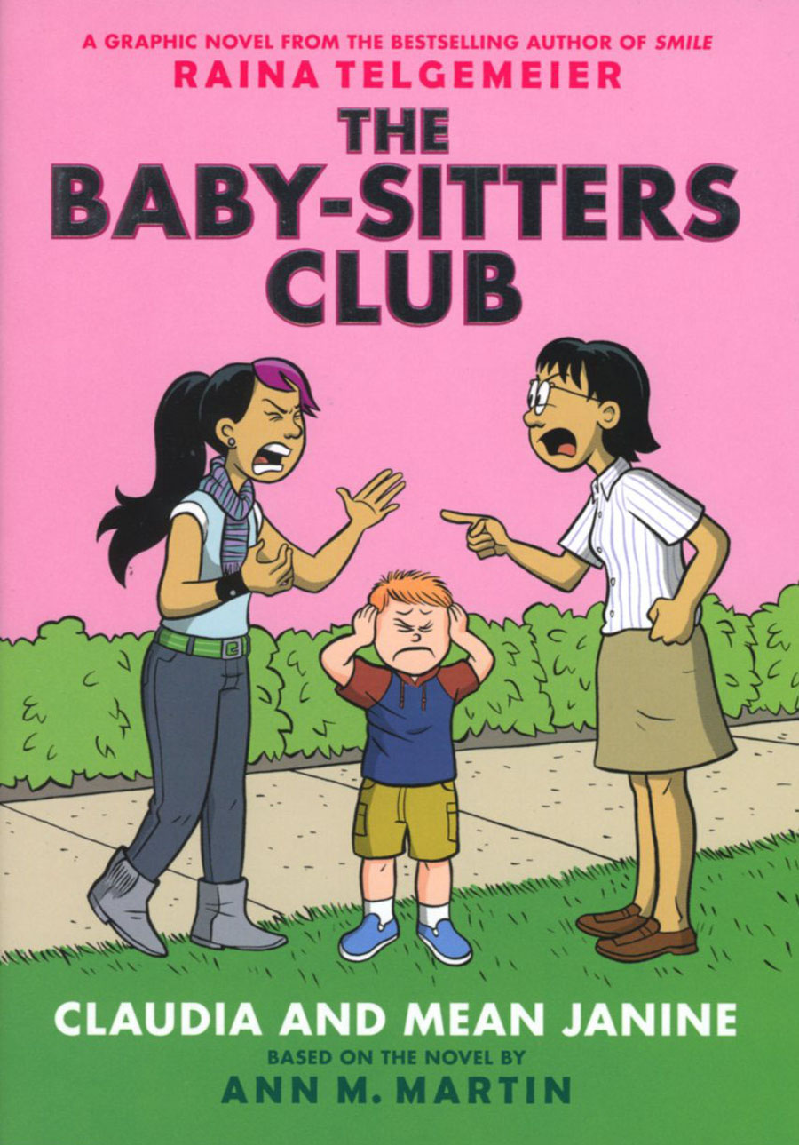 Baby-Sitters Club Color Edition Vol 4 Claudia And Mean Janine HC