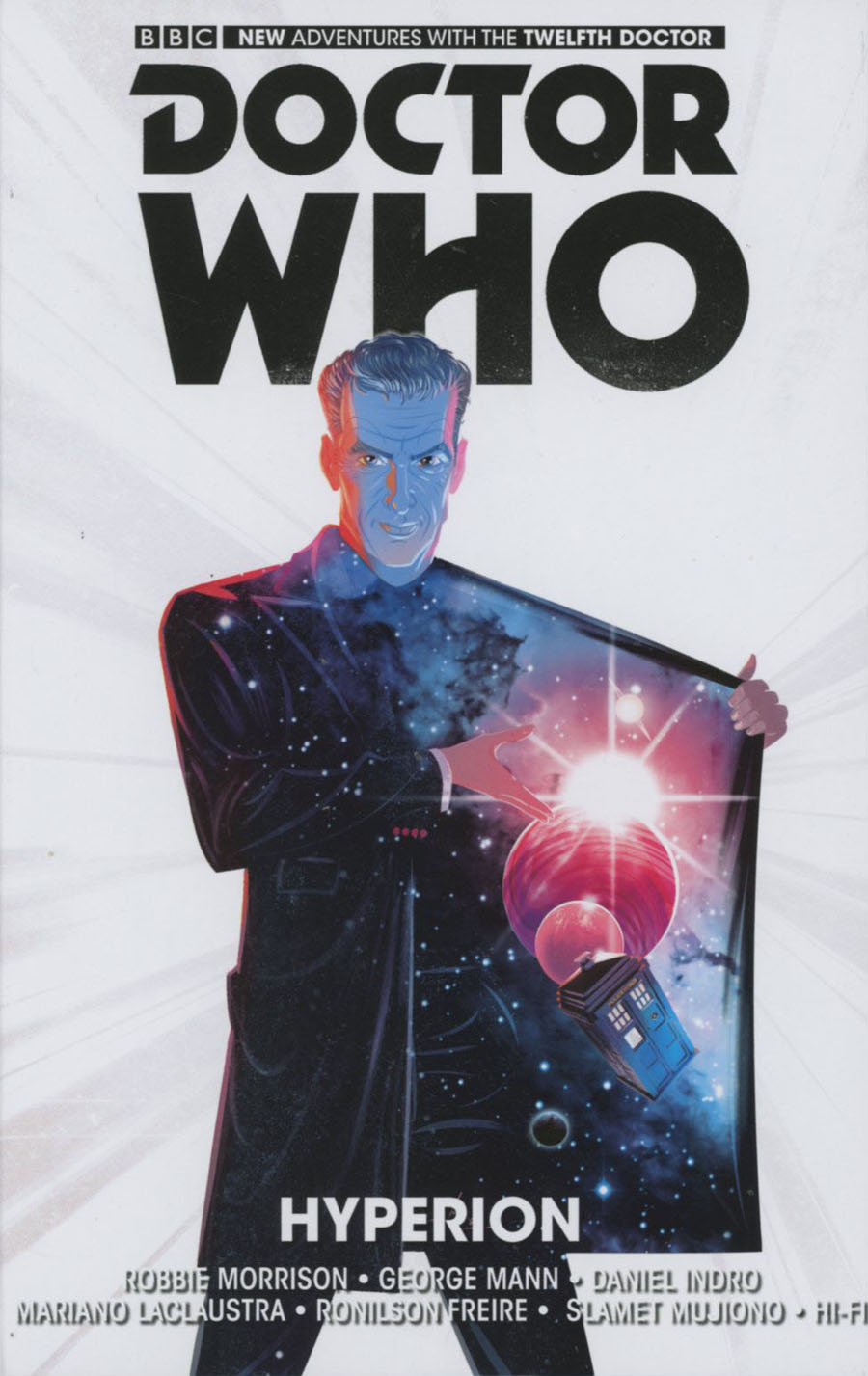 Doctor Who 12th Doctor Vol 3 Hyperion HC
