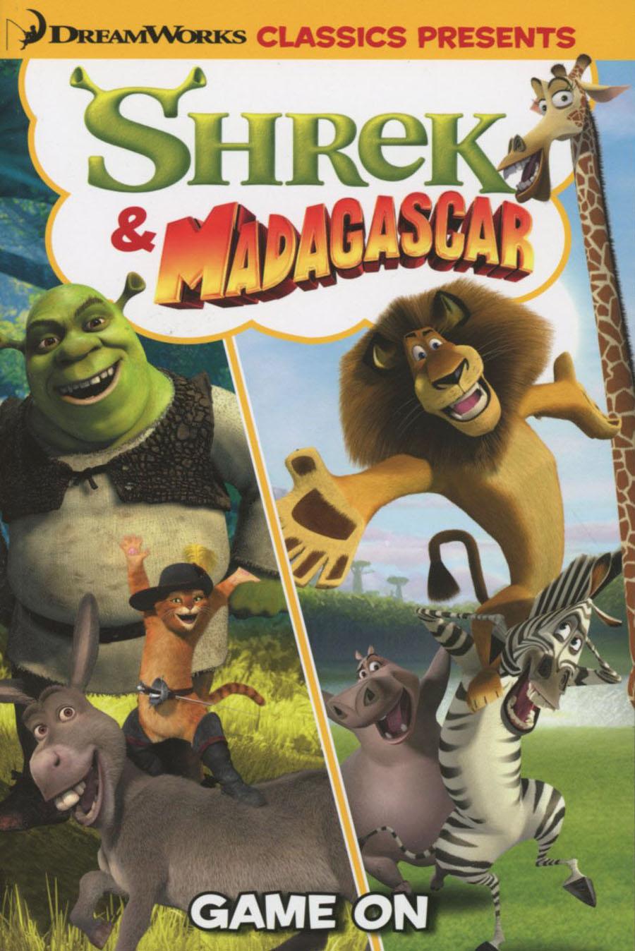 Dreamworks Classics Presents Vol 3 Shrek & Madagascar Game On TP