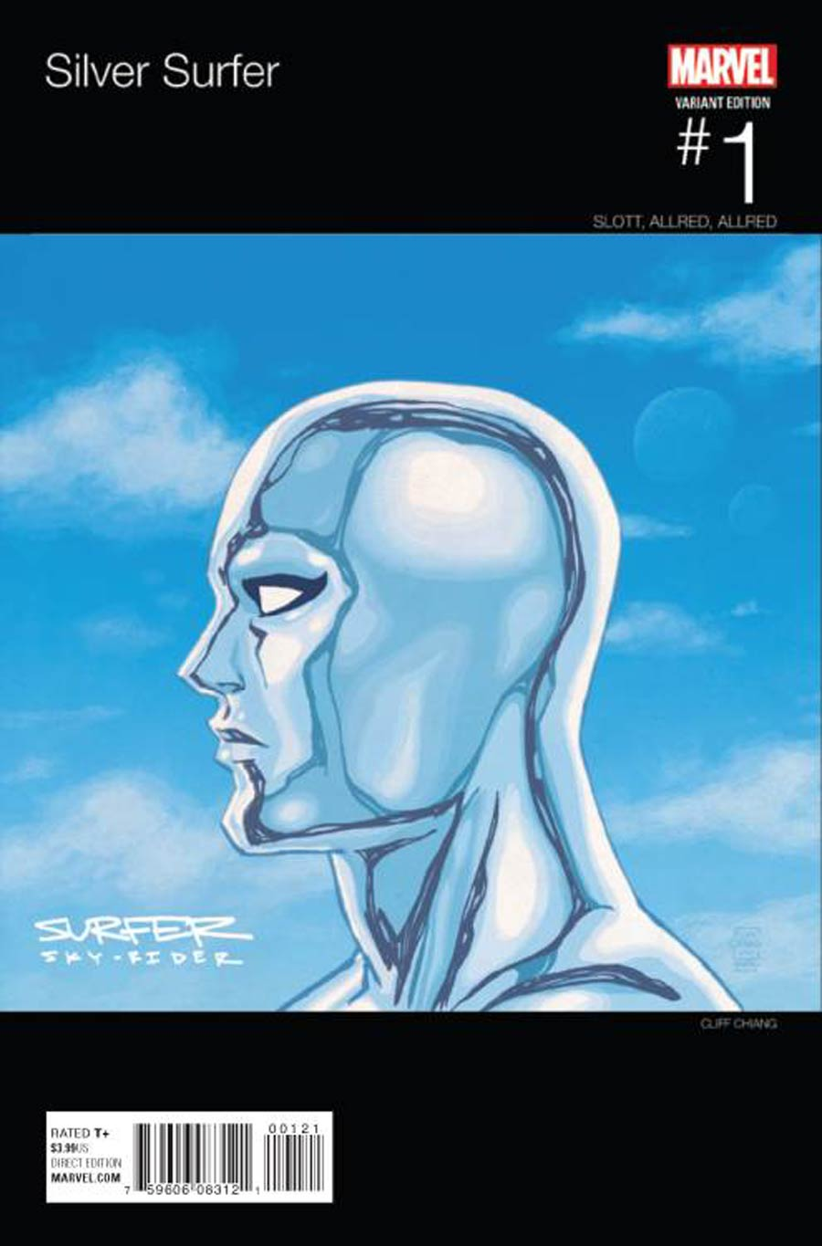 Silver Surfer Vol 7 #1 Cover B Variant Cliff Chiang Marvel Hip-Hop Cover
