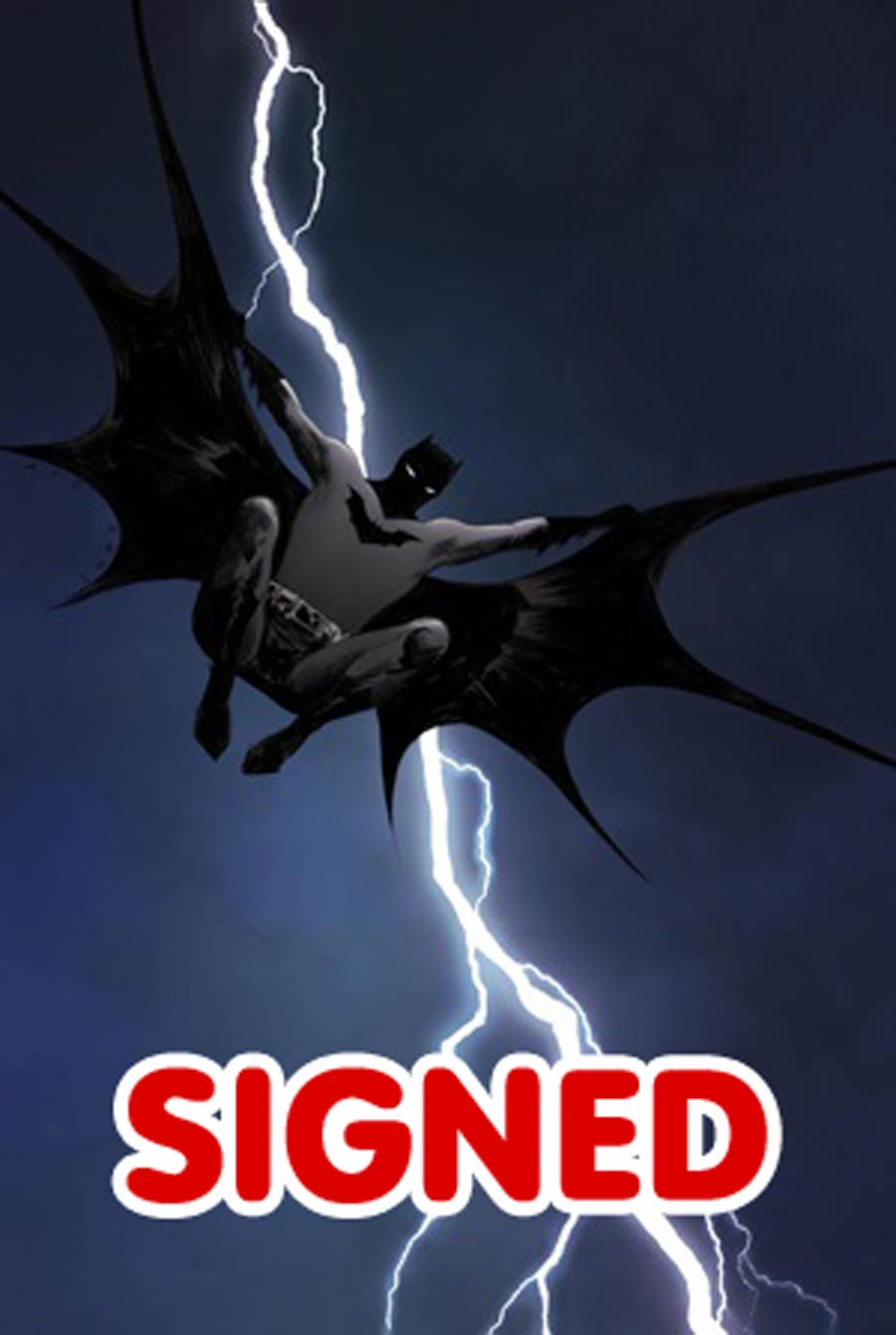 Dark Knight III The Master Race #1 Cover Y DF Exclusive Jae Lee Color Variant Cover Signed By Jae Lee Gold Signature