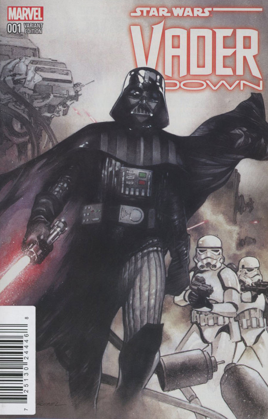 Star Wars Vader Down #1 Cover G DF Exclusive Olivier Coipel Variant Cover