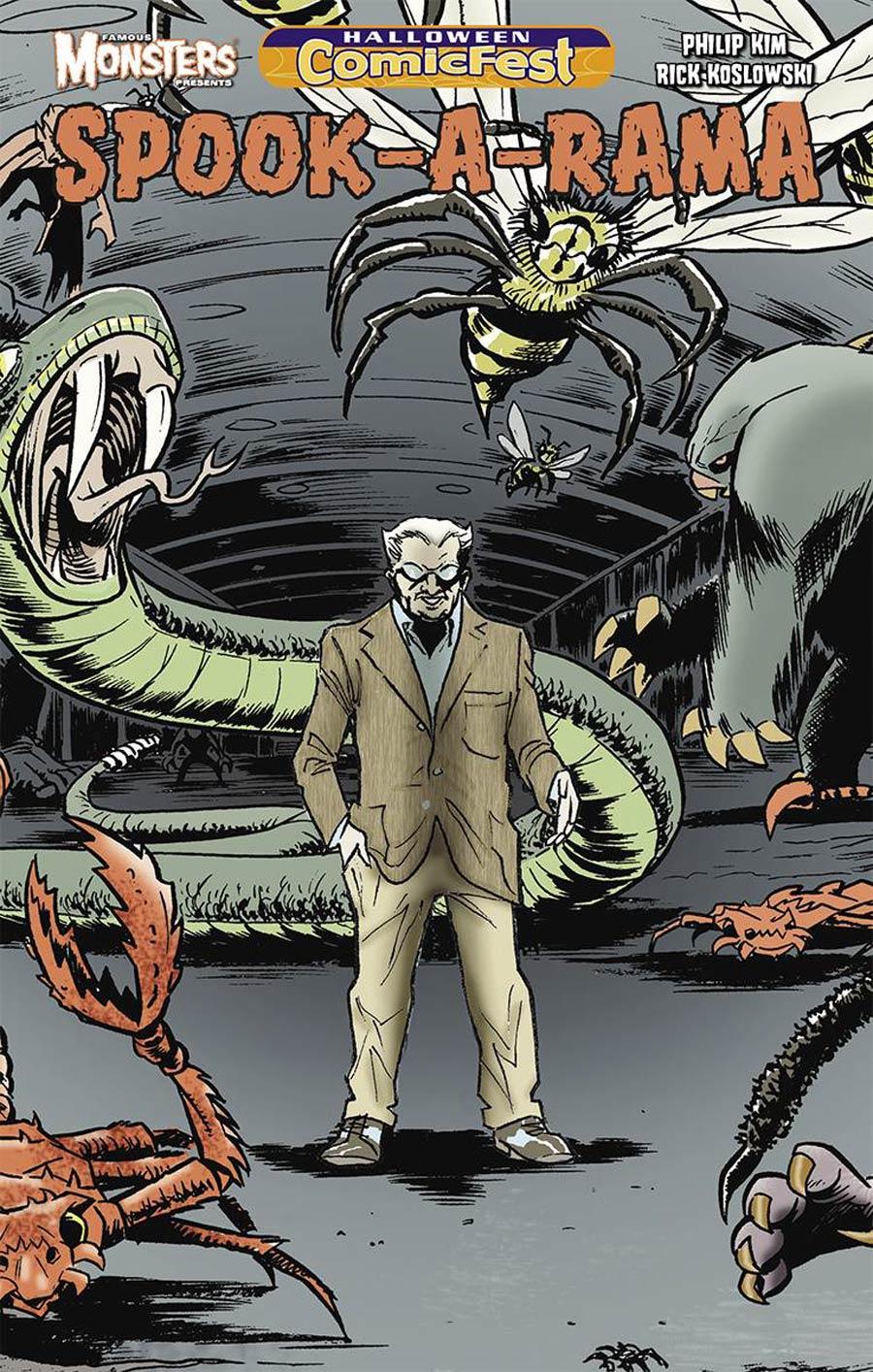 HCF 2015 Famous Monsters Presents Spook-A-Rama Mini-Comic