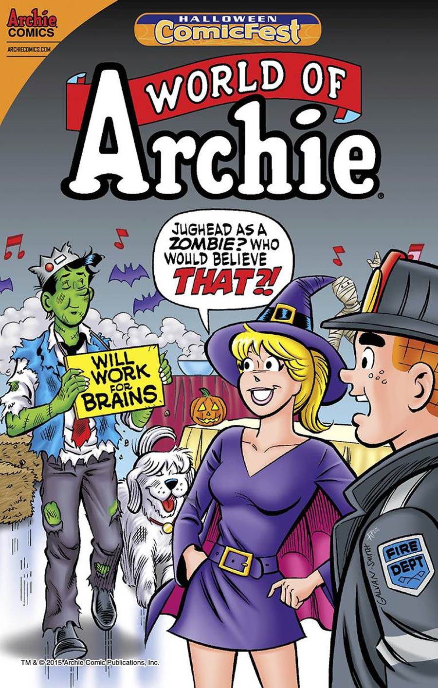 HCF 2015 World Of Archie Halloween Special Mini-Comic
