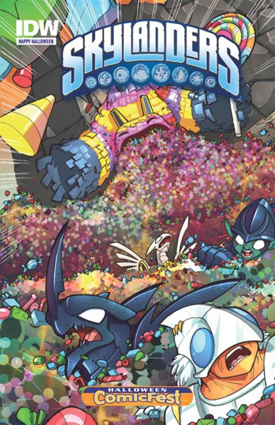 HCF 2015 Skylanders 2015 Halloween Special Mini-Comic
