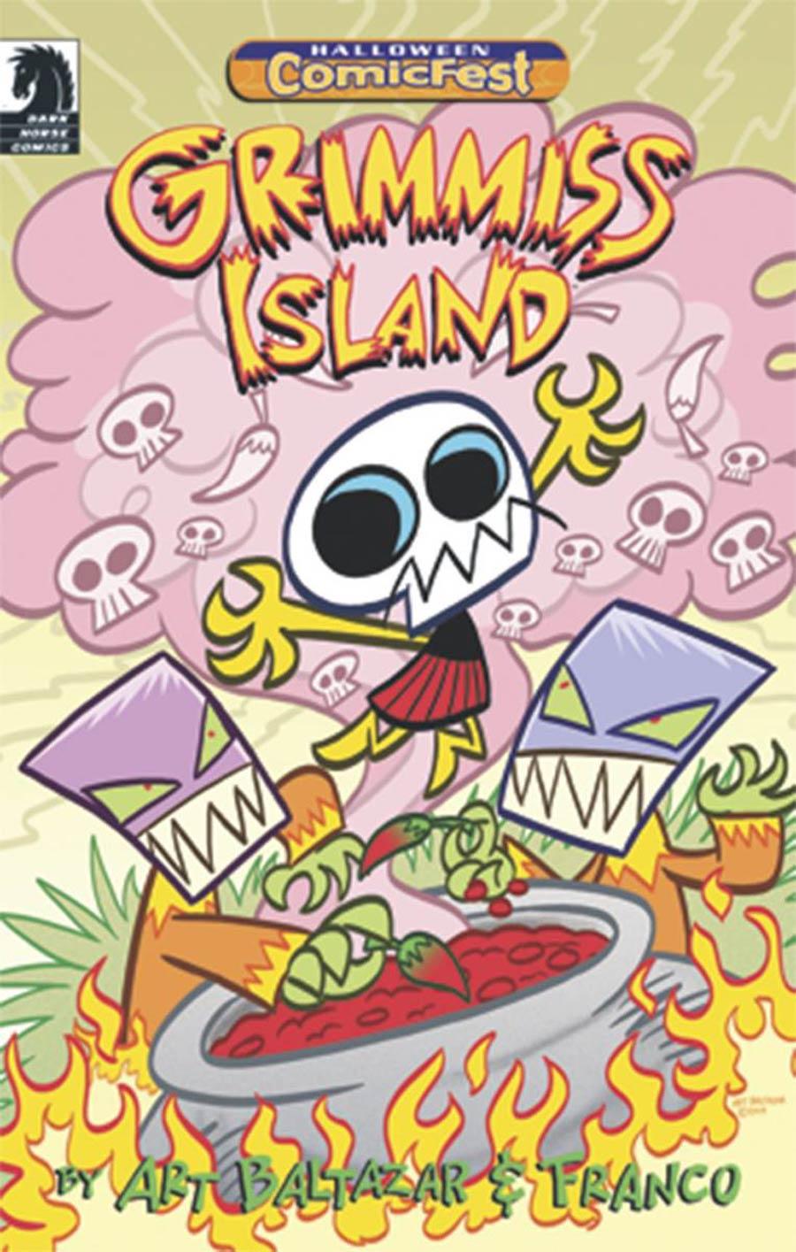 HCF 2015 Grimmiss Island Mini-Comic