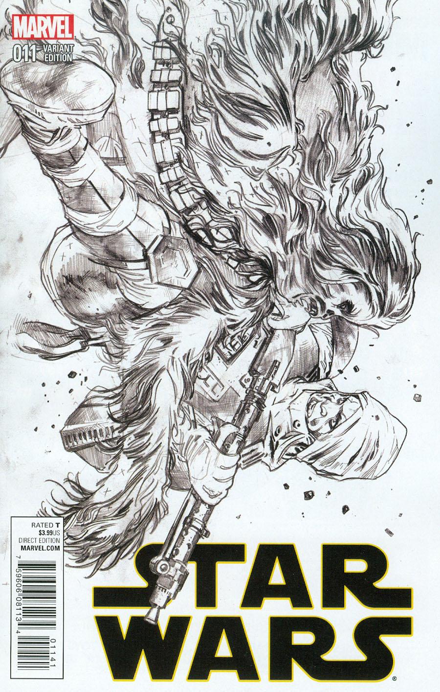 Star Wars Vol 4 #11 Cover C Incentive Stuart Immonen Sketch Cover
