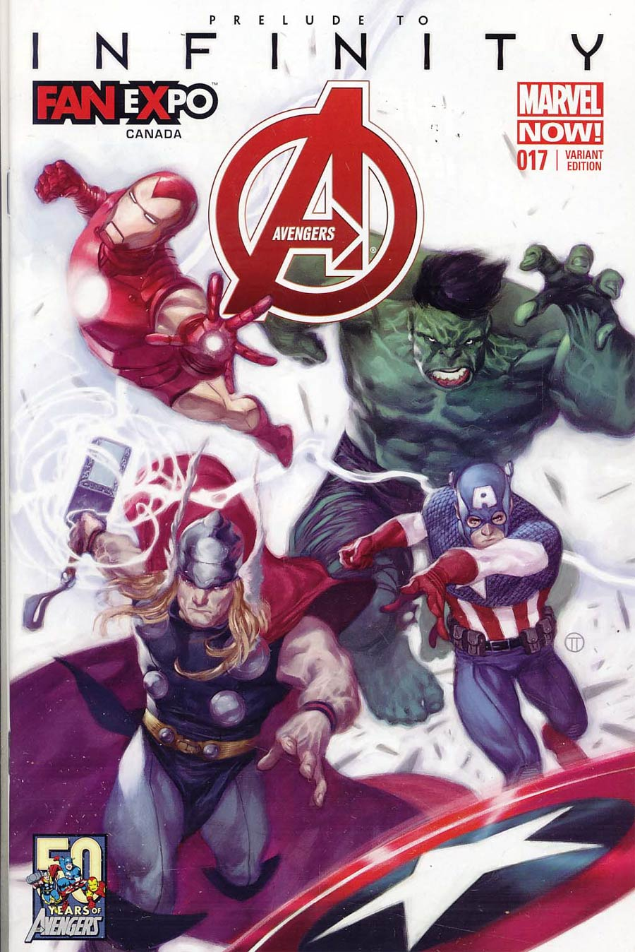 Avengers Vol 5 #17 Cover B (Infinity Prelude) Fan Expo Canada Edition