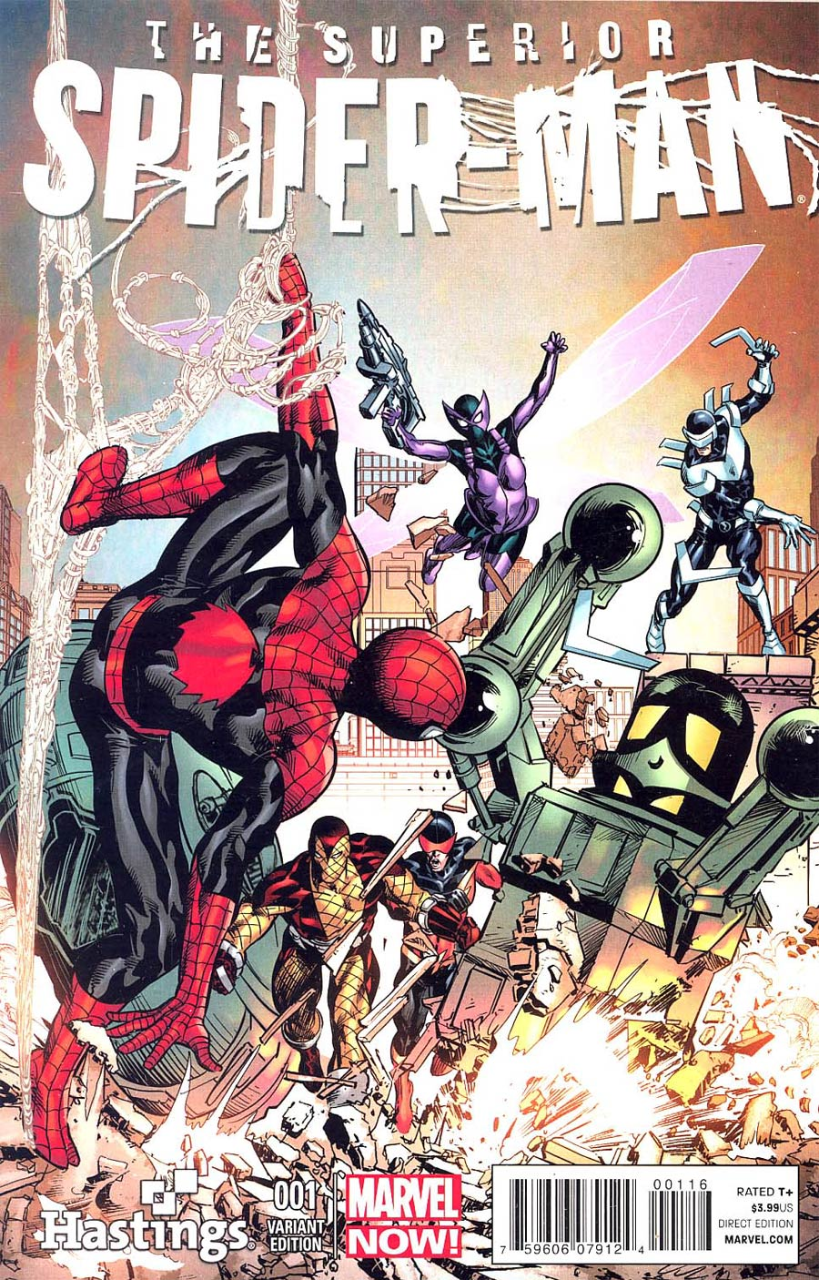 Superior Spider-Man #1 Cover K Hastings Variant