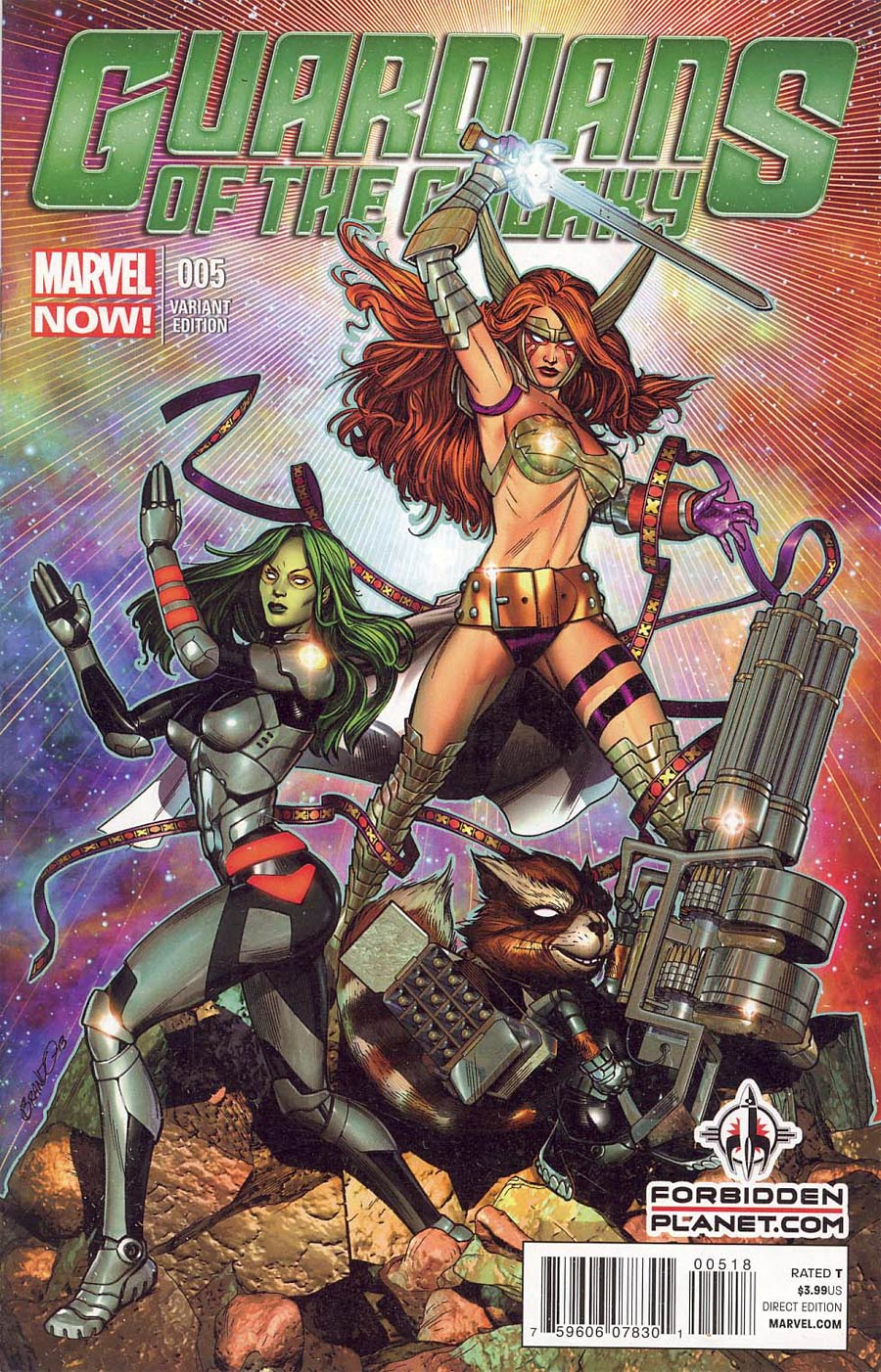 Guardians of the Galaxy Vol 3 #5 Cover P Forbidden Planet Variant
