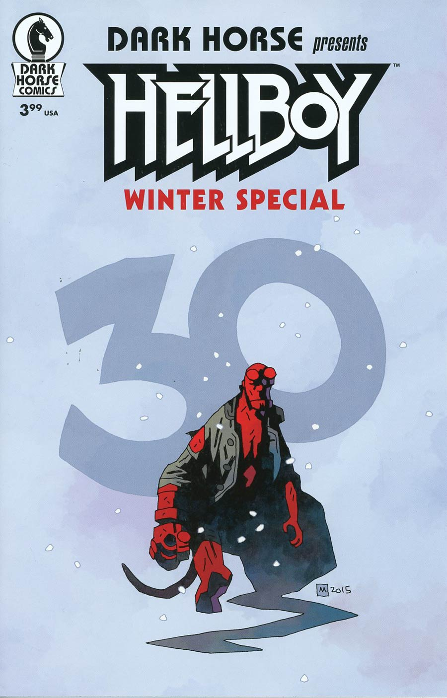 Hellboy Winter Special 2016 #1 Cover B Variant Mike Mignola Cover