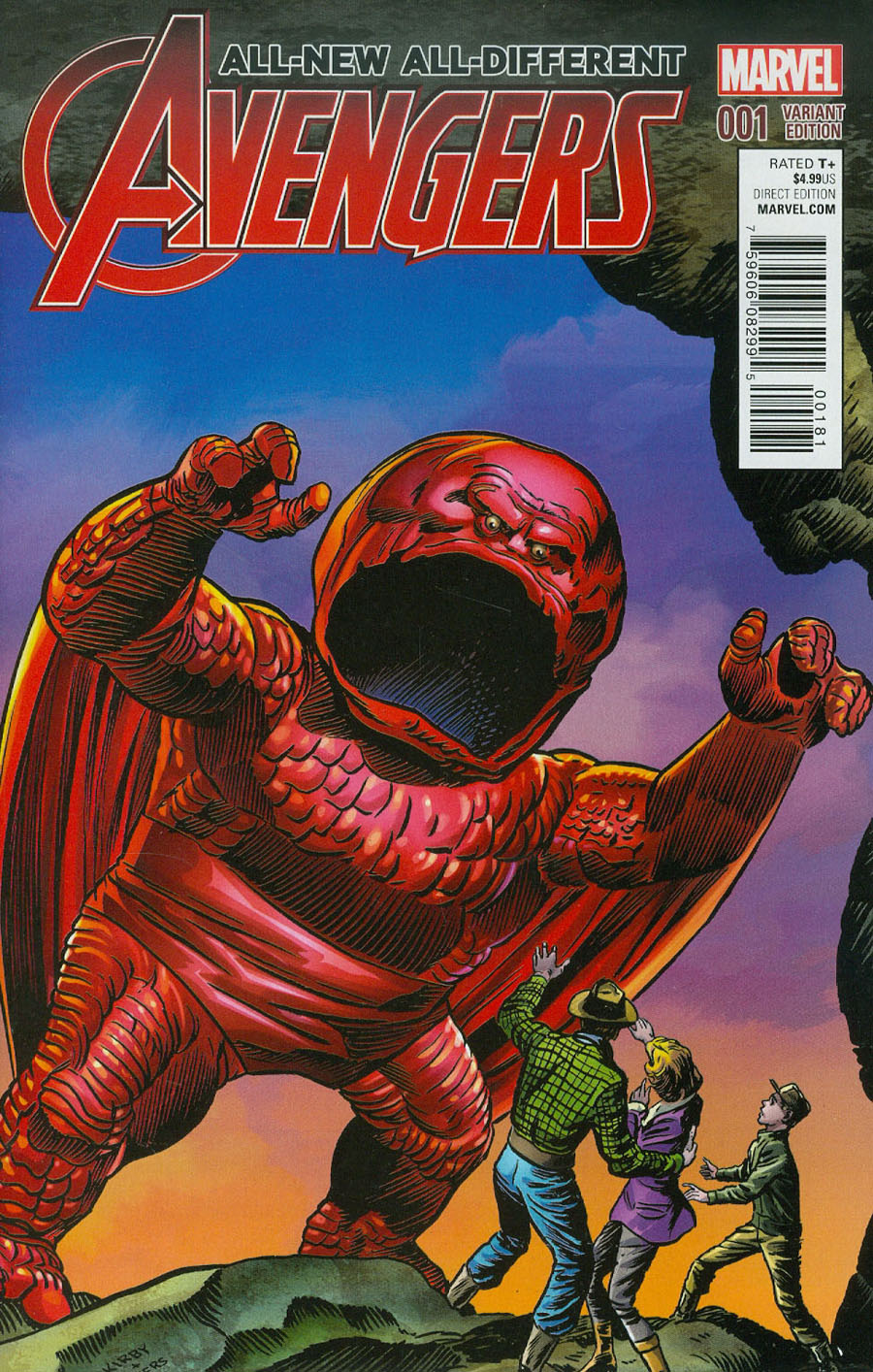 All-New All-Different Avengers #1 Cover C Incentive Kirby Monster Variant Cover