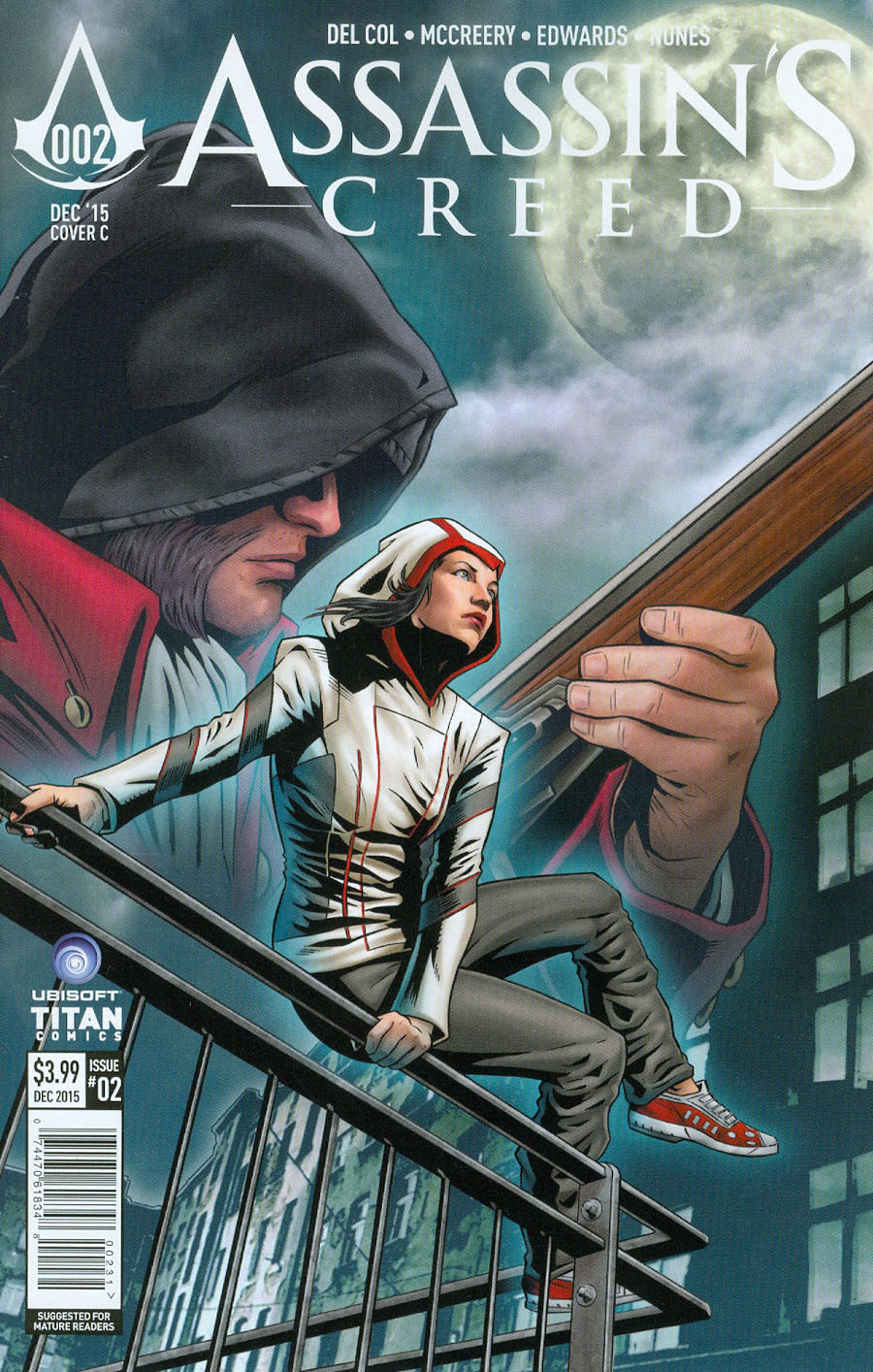 Assassins Creed #2 Cover C Variant Joe Corroney Cover