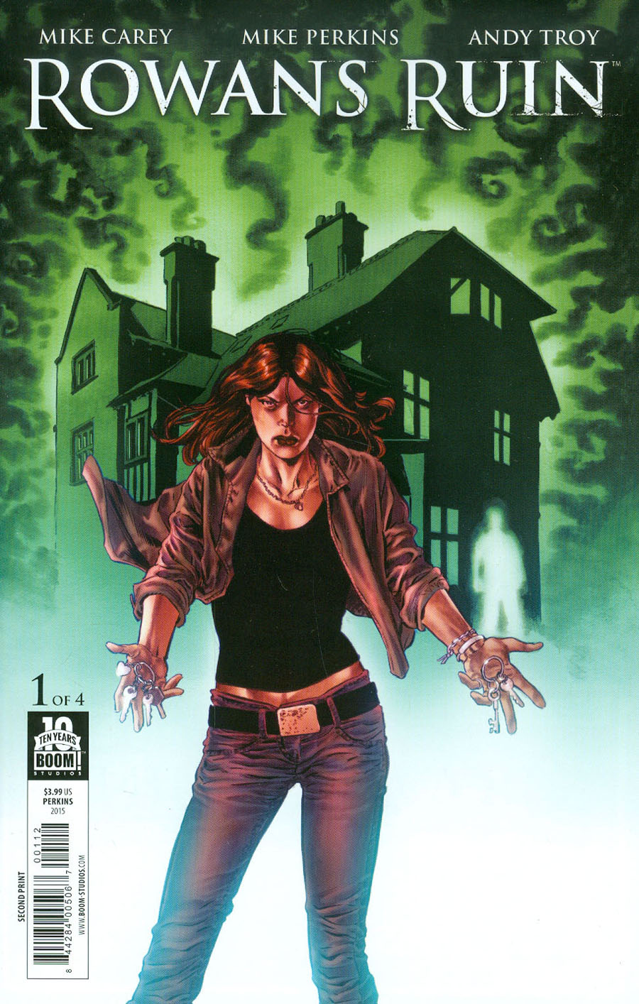Rowans Ruin #1 Cover D 2nd Ptg Mike Perkins Variant Cover