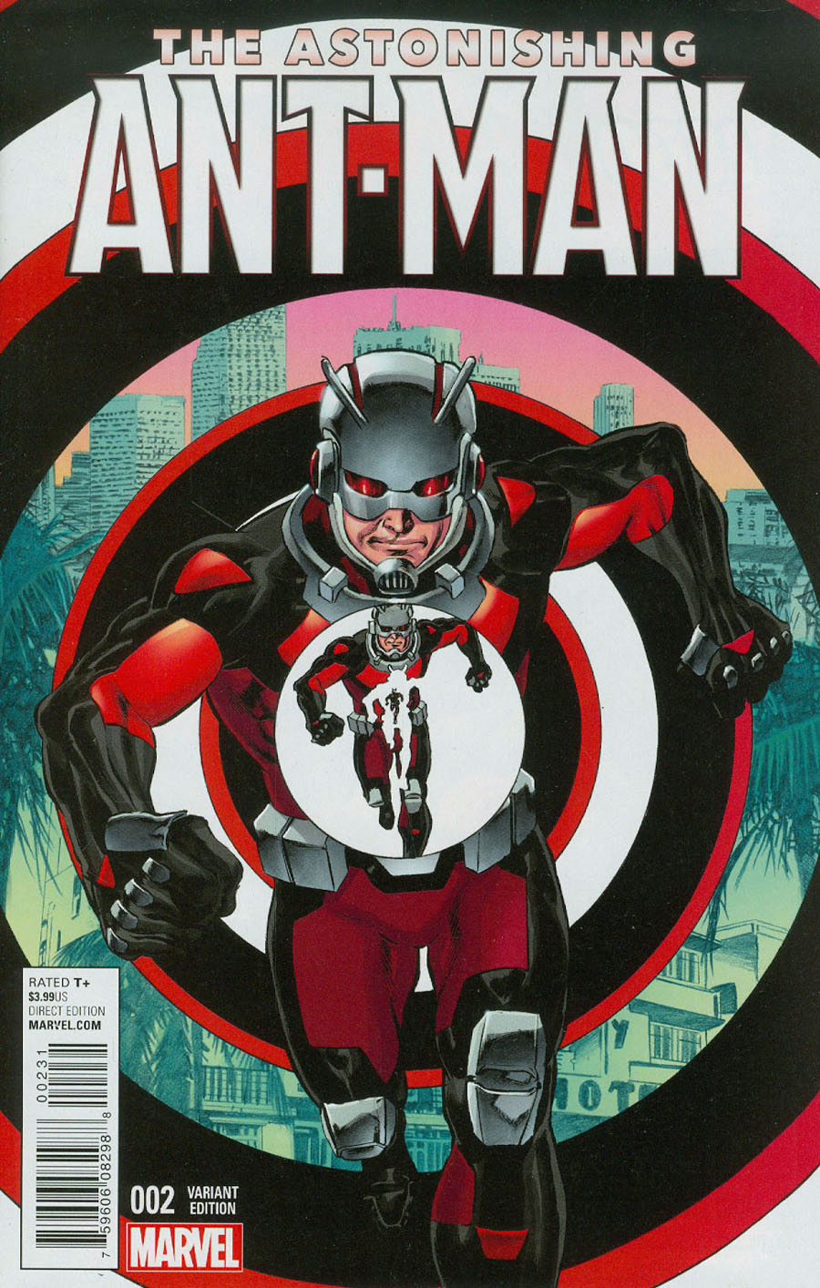 Astonishing Ant-Man #2 Cover B Incentive Mike Perkins Variant Cover