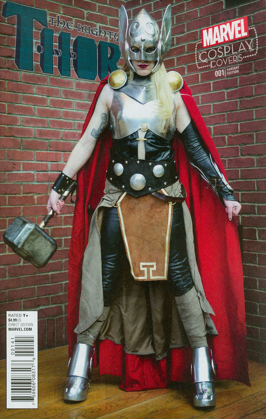 Mighty Thor Vol 2 #1 Cover D Incentive Cosplay Variant Cover